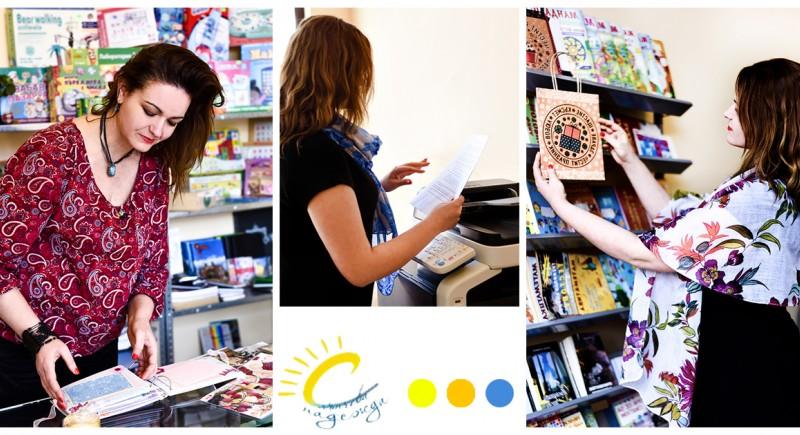 Лична бранд фотография - Книжарница и център за деца