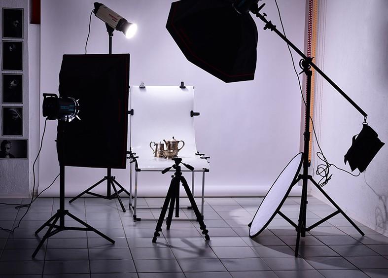 фотография със студийно осветление
